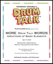 GWG - More Drum Talk Words - Product